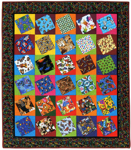 Bold Black And Beautiful Quilts By Debby Kratovil