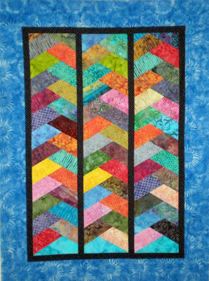 Free Quilt Pattern: Circle Dance Quilt from EZ Quilting at